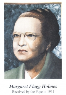 Margaret Flagg (Holmes) Birth: 1886 – Died: 1976. Educator - Margaret_Flagg_Holmes-portrait_225_324